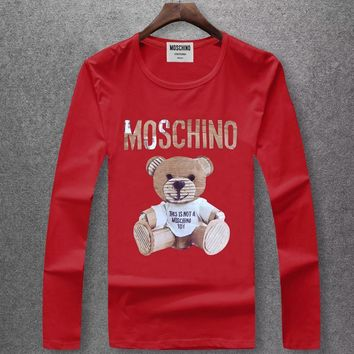 Moschino Fashion Casual Top Sweater Pullover-1