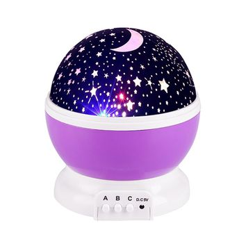 STYLEDOME LED Rotating Star Projector Lighting Moon Sky Rotation Lamp