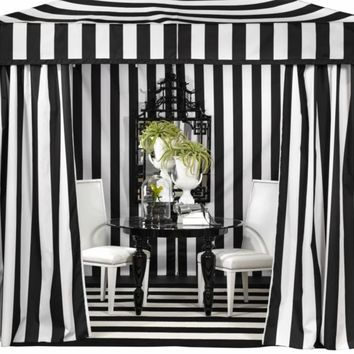 Portofino Pavilion - Black | Outdoor | Z Gallerie