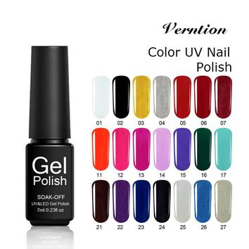 Verntion Summer Gel Lacquer Hybrid Nail Polish Long Lasting Lucky Gel Nail Polish Primer Led Gel Varnish Art New Products Sale