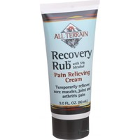 All Terrain Recovery Rub - Pain Relieving Cream - 3 oz