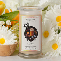 Pumpkin Spice Ring Candle
