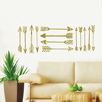 Wall Decals Arrows Tribal Arrow Decal Hipster Aztec Wall Vinyl Decal Stickers Bohemian Home Decor Bedroom Murals