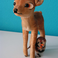 Vintage  collectible Steiff Walt Disney Bambi by Vintouchables