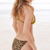 Out From Under Printed Slinky Bikini Bottom - Urban Outfitters