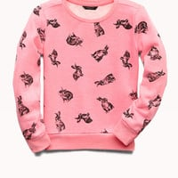 Quirky Bunny Sweatshirt (Kids)