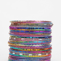 Urban Outfitters - Taj Bangle Bracelet - Set of 30