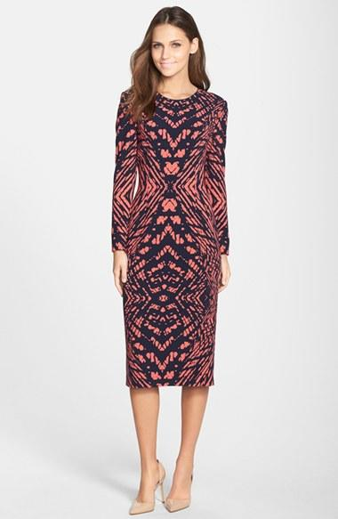 Womens Maggy London Tie Dye Print Crepe From Nordstrom
