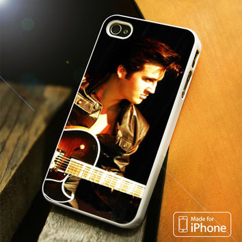 Elvis Presley Guitar iPhone 4S/5S/5C/SE/6S Plus Case