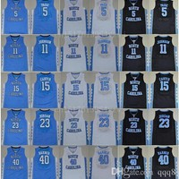 Cheap North Carolina Tar Heels 2 Joel Berry 15 Vince Carter 11 Brice Johnson 40 Harris