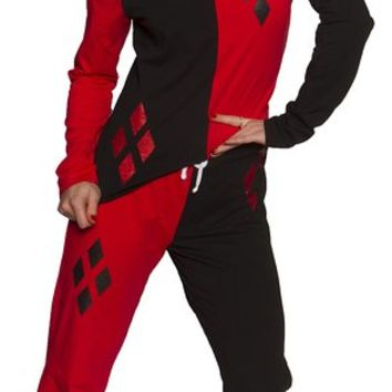 DC Comics Harley Quinn Women's Pajama Set (Small)