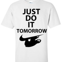 Sloth Apparel — Sloth-Tomorrow Tee