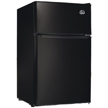 Igloo FR832I-E-BLACK 3.2 Cubic-ft Refrigerator (Black)