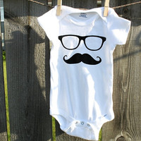 Mustache Baby Onesuits(R)