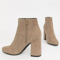 London Rebel High Ankle Boots at asos.com