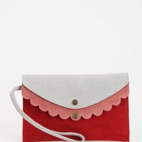 Urban Outfitters - Cooperative Tri-Tone Wristlet Pouch
