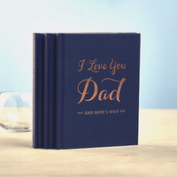 "COMPENDIUM, INC ""I LOVE YOU DAD"" BOOK"