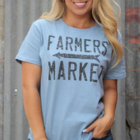 Farmer's Market tee by Original Cowgirl Clothing Company