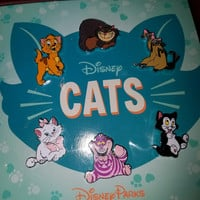 Disney 6 pin Booster Pack set - Cats