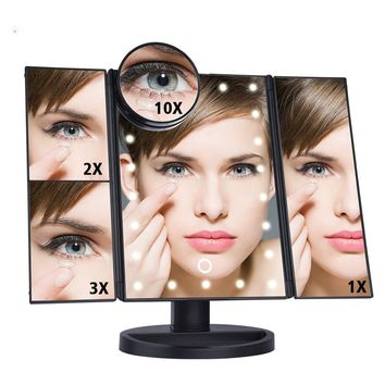 Rune LED Touch Screen Mirror