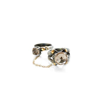 Priestess Double Ring