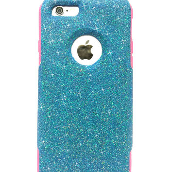 Custom iPhone 6 Plus Glitter Otterbox from NaughtyWoman on Etsy 117cf5f0b