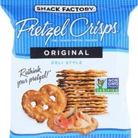 SNACK FACTORY: Original Pretzel Crisps, 1.5 Oz