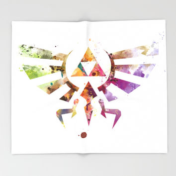 Zelda Throw Blanket by monnprint