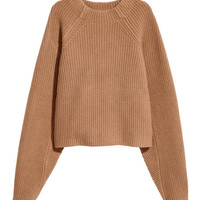 Knit Wool Sweater - from H&M
