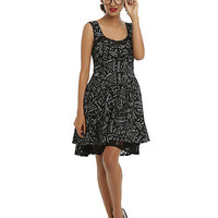 Science Fit & Flare Dress