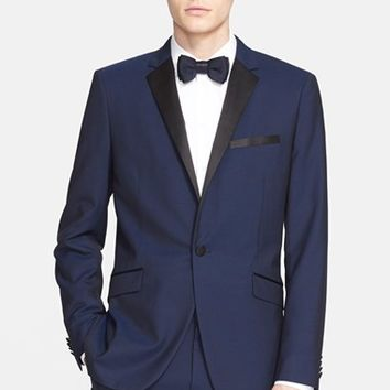 Men's Theory 'Wellar' Trim Fit Super 130s Wool Dinner Jacket