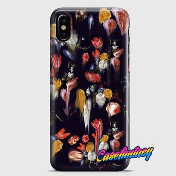 Gothic Floral iPhone X Case
