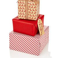 Red 3-in-1 Wrapping Paper Compendium Bundle | M&S