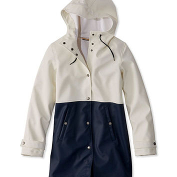Women's Signature Fisherman's Cove Coat, Colorblock
