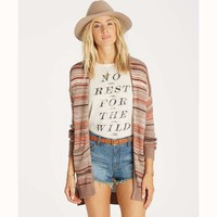 STRIPES OVER YOU SWEATER CARDIGAN