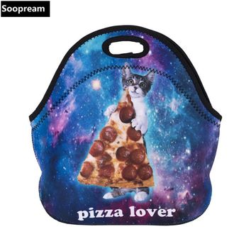 free shipping bolsa termica lancheira neoprene bread lunch bag coffee beer thermal bag lunch boxes women kids snacks school tote