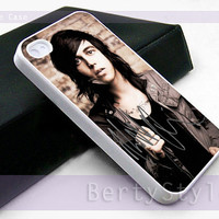 Iphone Case - Iphone 4 Case - Iphone 5 Case - Samsung s3 - samsung s4 - Kellin Quinn Sleeping With Sirens - Photo Print on Hard Plastic