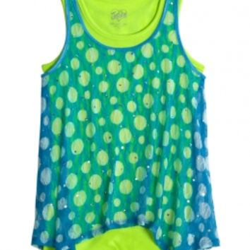 Lace Dot 2fer Tank | Girls Tanks Tops & Tees | Shop Justice