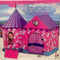 GIANT INDOOR/OUTDOOR FAIRY TALE PRINCESS PLAY TENT CASTLE