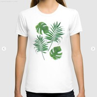 Tropical leaves II by CatyArte
