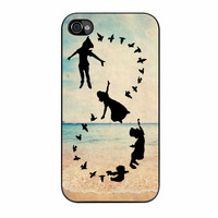 Peter Pan Never Grow Up Infinity Beach iPhone 4s Case