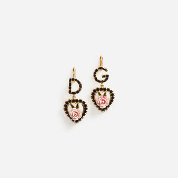 Pendant Earrings With Logo - Women | Dolce&Gabbana