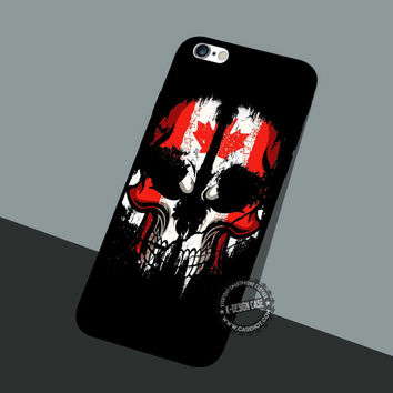 Skull Bead Pattern - iPhone 7 6 5 SE Cases & Covers