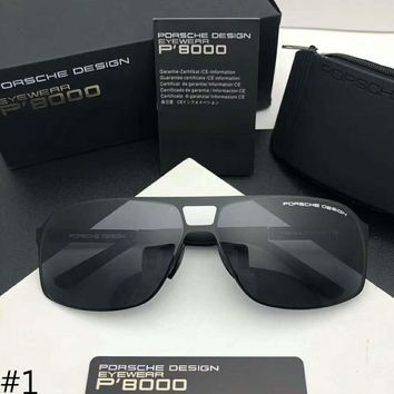 Porsche Design 2018 Men's Fashion Trends HD Polarized Sunglasses F-A-SDYJ #1