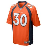 Nike NFL Denver Broncos (Terrell Davis) Men's Football Home Game Jersey