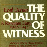 Quality of Witness: A Romanian Diary, 1937-1944 [Hardcover]