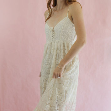 Jen's Pirate Booty Midsummer Nights Maxi Dress