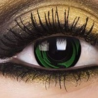 Green Galaxy Contact Lenses, Green Galaxy Contacts | EyesBright.com