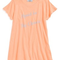 Wildfox 'Head in the Clouds' Swing Tee (Big Girls)