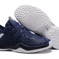 Adidas Men James Harden 2.0 Dark Navy Basketball Shoes